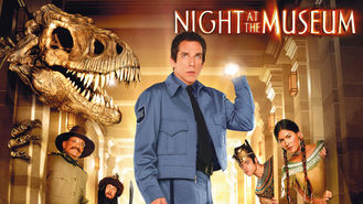 Netflix box art for Night at the Museum