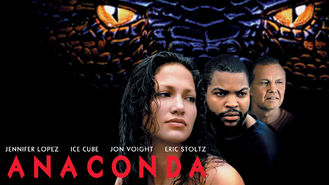 Netflix box art for Anaconda