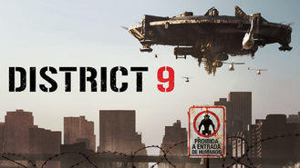 Netflix box art for District 9