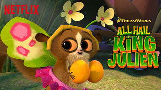 Netflix box art for All Hail King Julien - Season 4