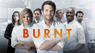 Netflix box art for Burnt