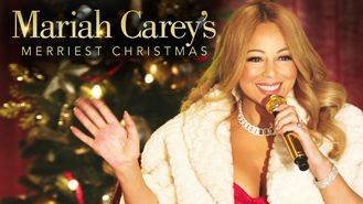 Netflix box art for Mariah Carey's Merriest Christmas