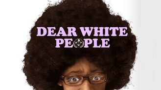 Netflix box art for Dear White People