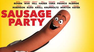 Netflix box art for Sausage Party