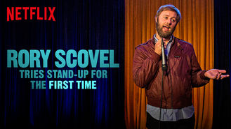 Netflix box art for Rory Scovel Tries Stand-Up for the...