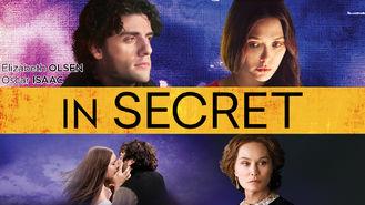 Netflix box art for In Secret