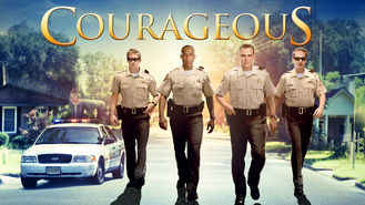 Netflix box art for Courageous