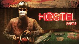 Netflix box art for Hostel: Part III