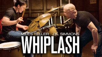 Netflix box art for Whiplash