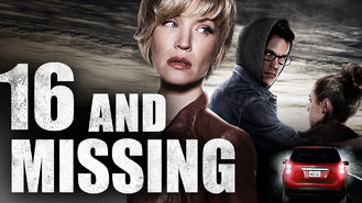 Netflix box art for 16 and Missing