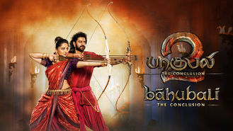 Netflix box art for Baahubali 2: The Conclusion (Tamil...