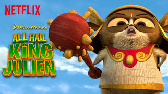 Netflix box art for All Hail King Julien - Season 4