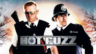 Netflix box art for Hot Fuzz