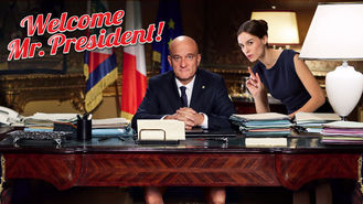 Netflix box art for Welcome Mr. President