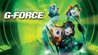 Netflix box art for G-Force