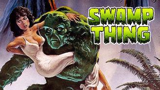 Netflix box art for Swamp Thing
