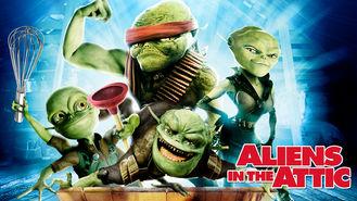 Netflix box art for Aliens in the Attic