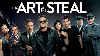 Netflix box art for The Art of the Steal