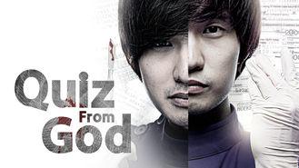 Netflix box art for Quiz From God - Season 1