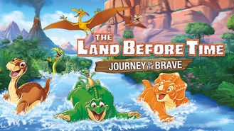 Netflix box art for The Land Before Time: Journey of the Brave