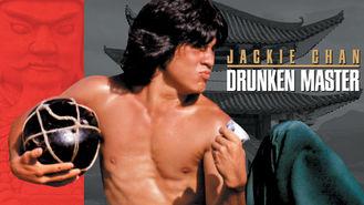 Netflix box art for Drunken Master