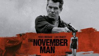 Netflix box art for The November Man