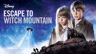 Netflix box art for Escape to Witch Mountain