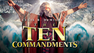 The Ten Commandments (1956) on Netflix in Canada