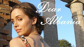 Netflix box art for Dear Albania