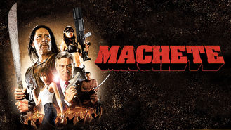 Netflix box art for Machete