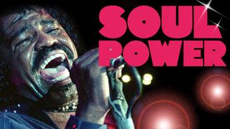 Is Soul Power on Netflix?