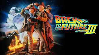 Netflix box art for Back to the Future Part III