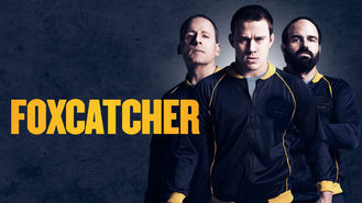 Netflix box art for Foxcatcher