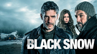 Netflix box art for Black Snow