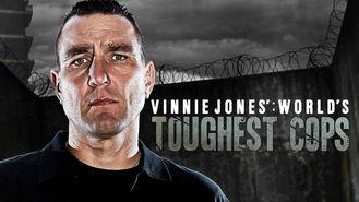 Netflix box art for Vinnie Jones World's Toughest Cops - Season 1