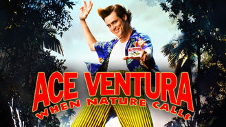 Netflix box art for Ace Ventura: When Nature Calls