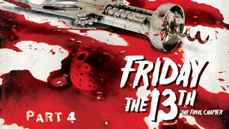 Netflix box art for Friday the 13th: Part 4: The Final Chapter